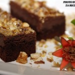 Ricotta nutella brownies torta